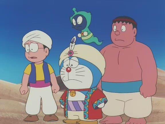哆啦A梦 大雄的天方夜谭 Doraemon movie 1991 Nobita in Dorabian 图片