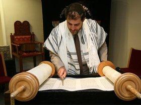 犹太教和基督教的希伯来书圣经海报