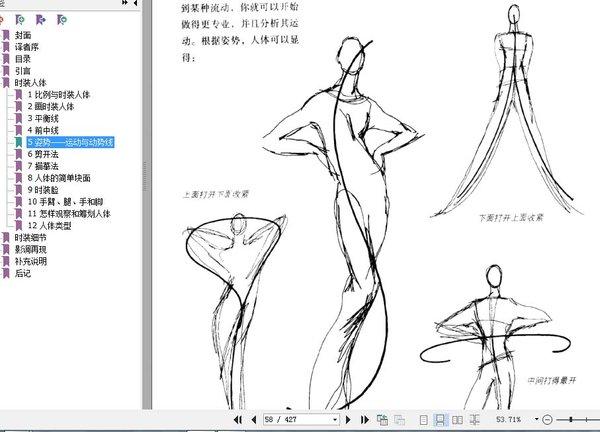 《美国经典时装画技法》扫描版[pdf]