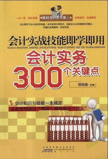 《会计实战技能即学即用:会计实务300个关键点》扫描版[PDF]