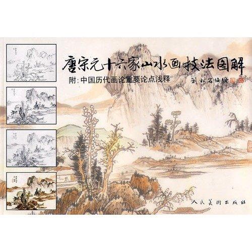 《唐宋元十六家山水画技法图解》[PDF]扫描版