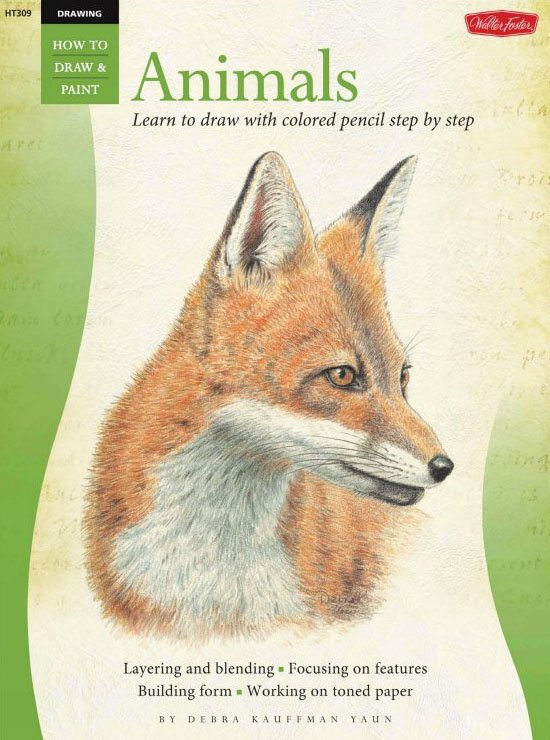 《彩色铅笔画(动物篇)》(animals in colored pencil