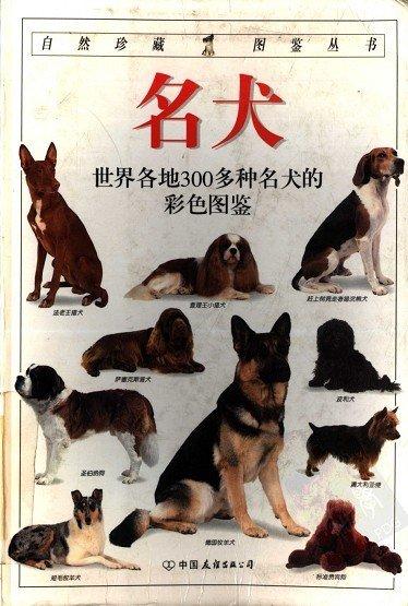 《名犬:全世界300多种名犬的彩色图鉴》[PDF]全彩版