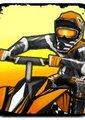 泥泞沙地摩托大赛