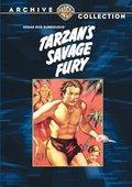 Tarzan's Savage Fury 海报