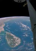 和宇航员从太空鸟瞰地球