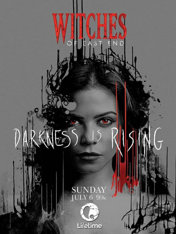 ...女巫   lifetime确认《东区女巫》(witches of east end)第二季...
