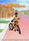 El niño de la bicicleta de 3 ruedas 海报