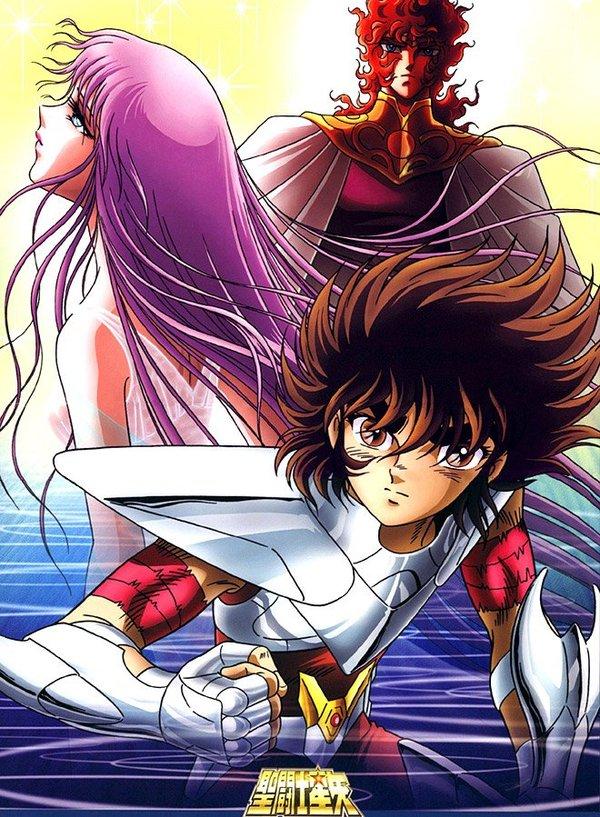 圣斗士星矢 天界篇 序奏 Saint Seiya Heaven Chapter Overture 动漫图