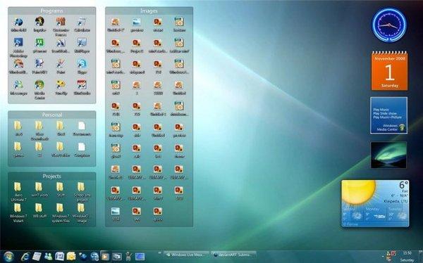 《桌面图标整理工具》(stardock fences )v2.01.484图片