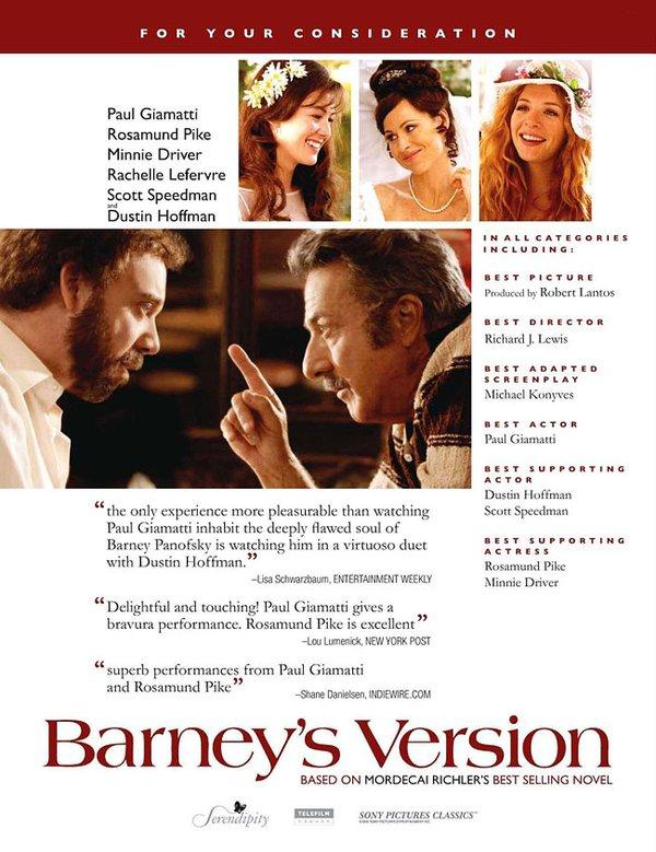 巴尼的版本 Barney Version