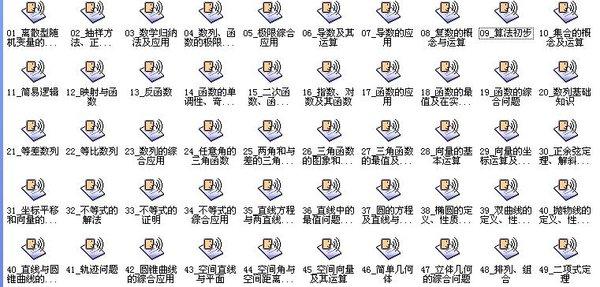 《北京101网校:视频学习资料汇总》黑体高中/高中英语二v视频讲座图片