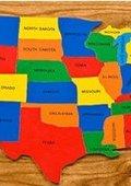 美国总统选举中的地理学 海报
