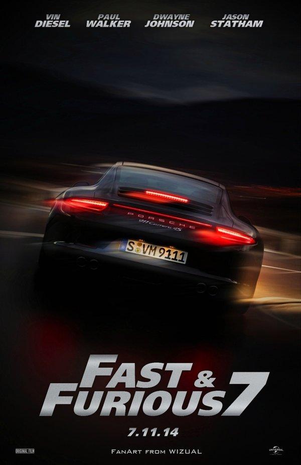 速度与激情7什么时候上映 时间预告片演员表剧情海报
