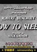 睡眠妙法 海报
