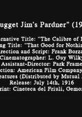 Nugget Jim's Pardner 海报