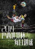 2014巴西世界杯每日进球