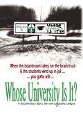 Whose University Is It? 海报
