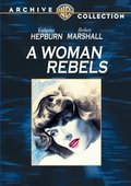 A Woman Rebels 海报
