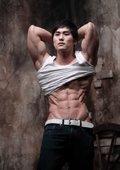 牛男健身:健身教学 海报
