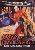 Santo el Enmascarado de Plata vs 'La invasión de los marcianos' 海报