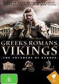 希腊人,罗马人,维京人:欧洲的奠基者 海报