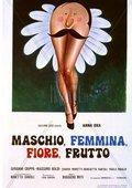 Maschio, femmina, fiore, frutto 海报