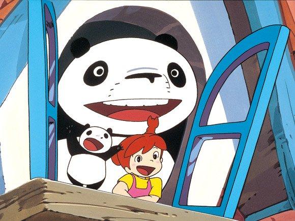 签到可爱熊猫头像