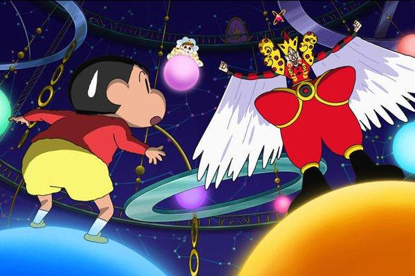 蜡笔小新:呼风唤雨!我与宇宙公主