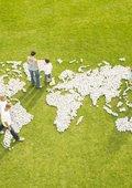 世界各地区人民和国家 海报