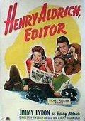 Henry Aldrich, Editor 海报