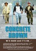 Concrete Brown 海报