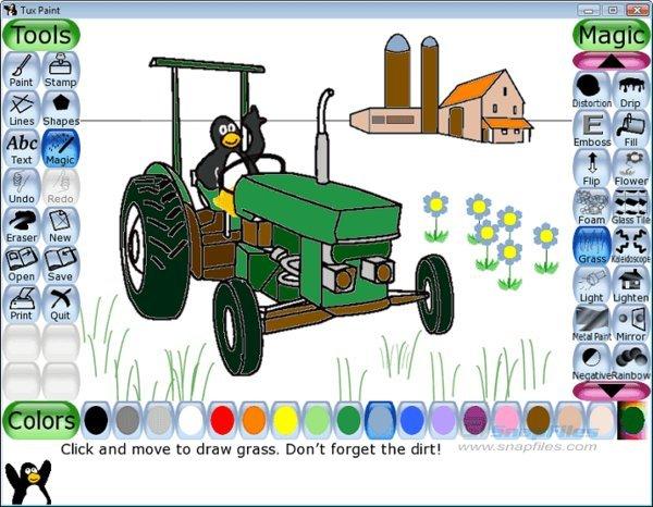 《儿童学画画软件下载》(tuxpa