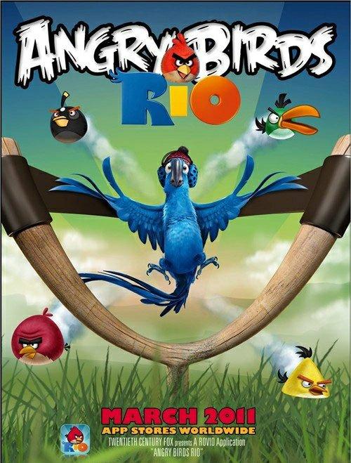《愤怒的小鸟》飞上大银幕