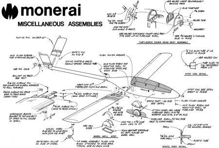 制飞机图纸