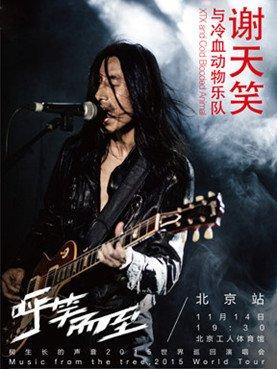 谢天笑与冷血动物乐队北京演唱会
