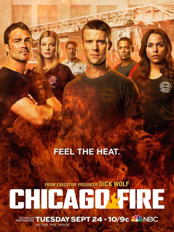 烈焰 第二季Chicago Fire Season 2 电视剧图