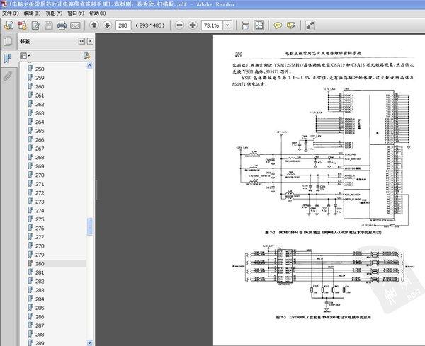内部电路框图,应用电路,引脚功能,各种电路测试点数据以及检修方法等.