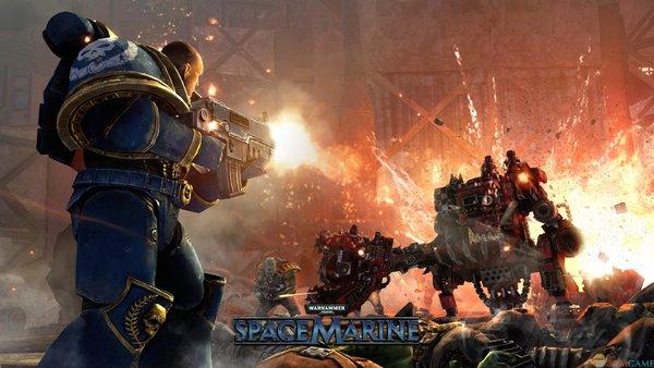 《战锤40K:星际战士》(Warhammer 40,000: Space Marine)典藏版 免安装硬盘版[压缩包]