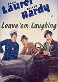 Leave 'Em Laughing 海报