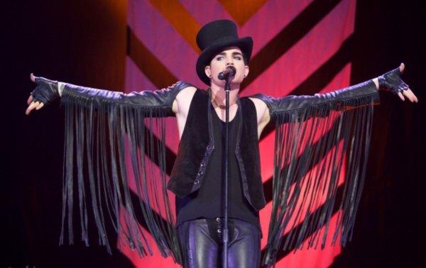 美国偶像亚当·兰伯特上海开唱展现实力