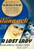 A Lost Lady 海报