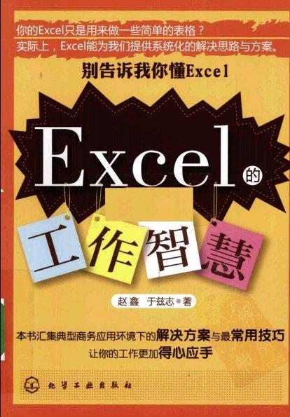 《别告诉我你懂Excel·Excel的工作智慧》[PDF]扫描版