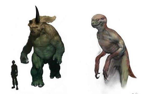 《侏罗纪公园4》曝光设计图 恐龙人成为卖点