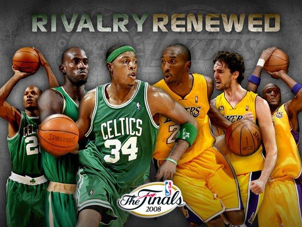 2007-08 NBA总决赛 湖人VS 凯尔特人