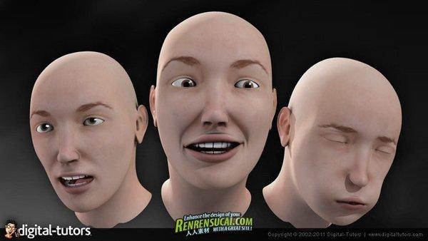 《maya面部表情动画技术训练教程》(digital-tutors facial animation图片