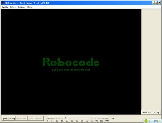 001_【西安领航_何足道】_Java入门项目课程_Robocode简介及创建第一个机器人   avi [p6]