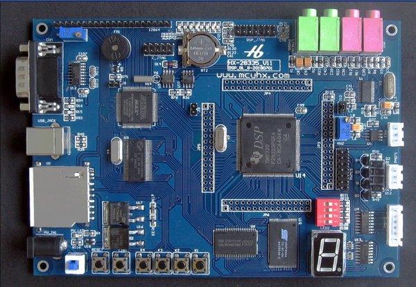 HX-28335 DSP 28335 开发板 视频教程