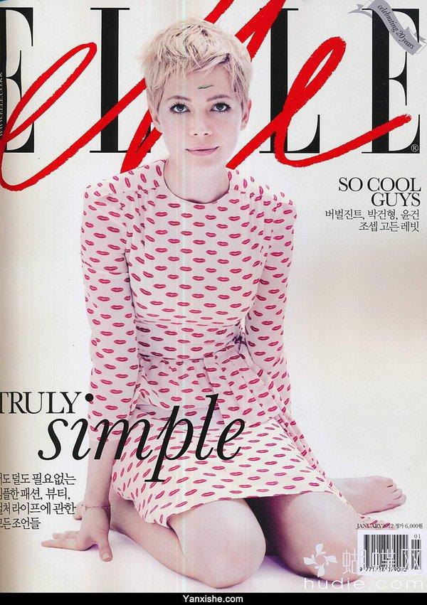 《《elle》ol时尚系列韩文杂志更新至---每月闪电更新