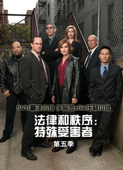 法律与秩序 特殊受害者 第五季海报